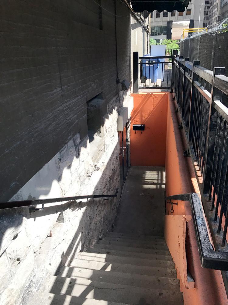 Swizzles: stairway