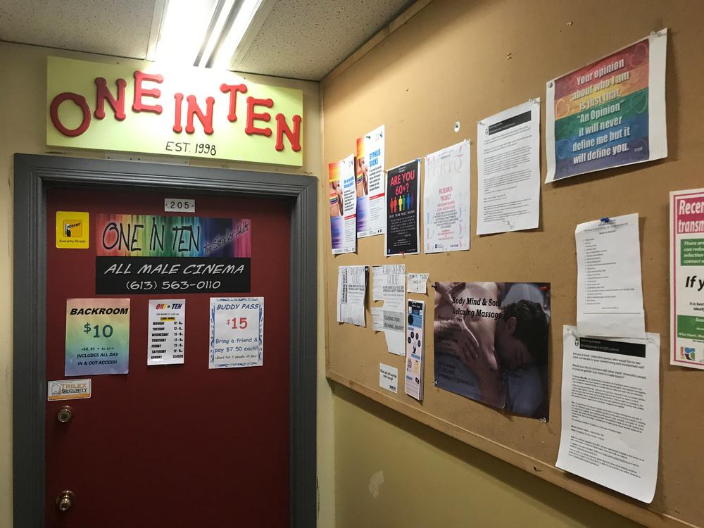 One in Ten: hallway