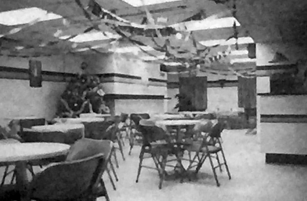 GO Centre, interior