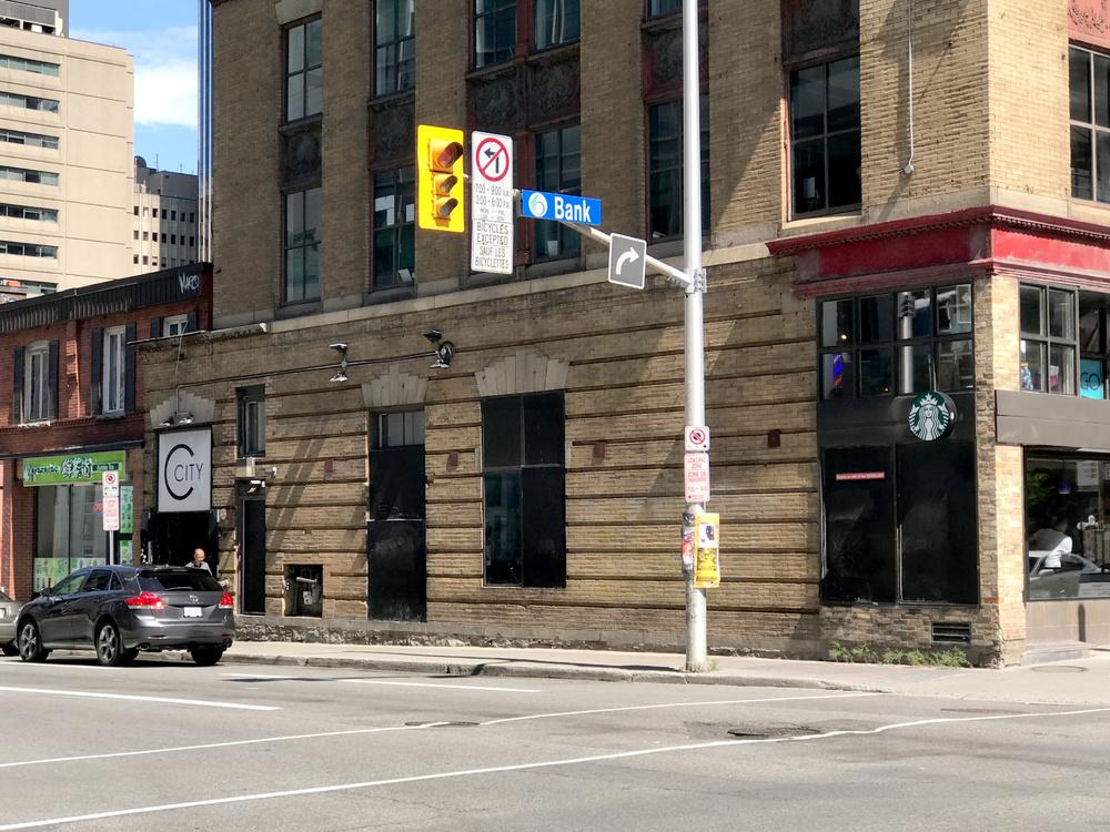former Club Soda location