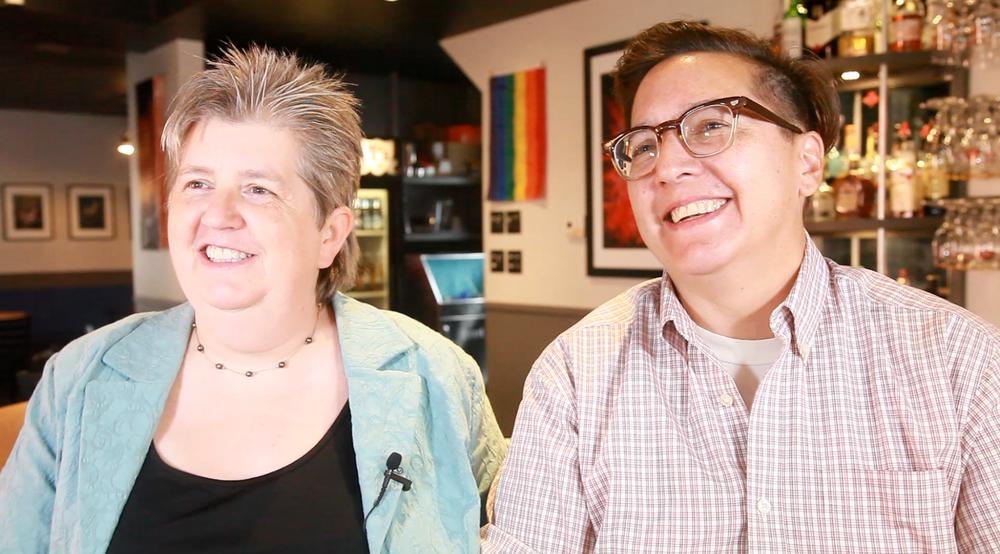 Tracey Braun and Renée Sauvé