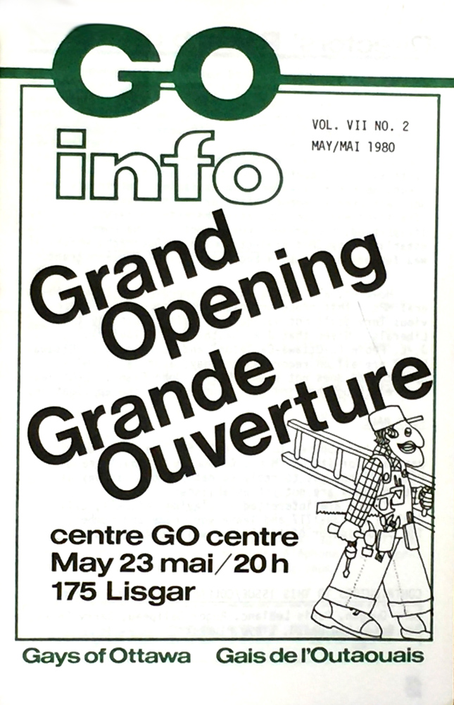GO info cover advertising new Centre location
